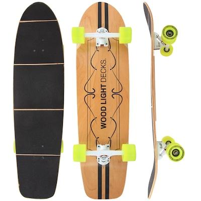 Longboard Wood Light Free Ride W110