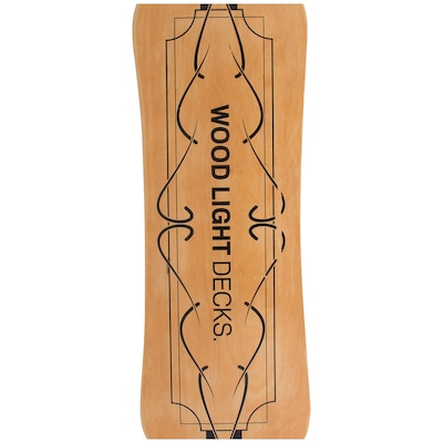 Long Board Wood Light Street Curve W120