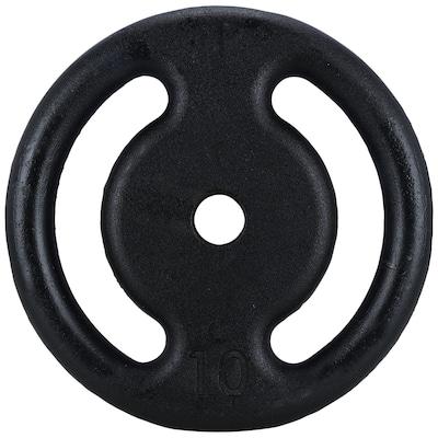 Anilha Oxer Ferro Vazada - 10 Kg