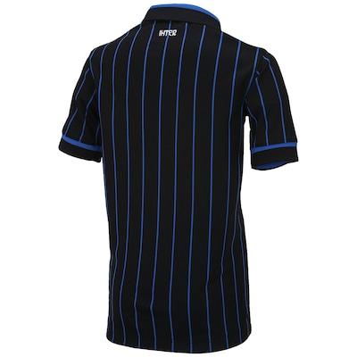 Camisa Nike Inter de Milão I 2014-2015 s/ nº - Infantil