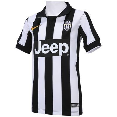 Camisa Nike Juventus I 2014-2015 s/ nº - Juvenil