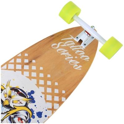 Long Board Wood Light Pin Tail W131