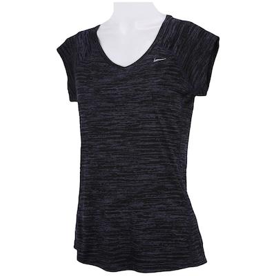 Camiseta Nike Printed Miler V Neck - Feminina