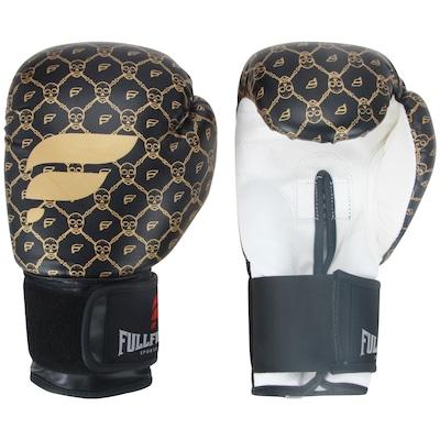 Luvas de Boxe Full Fighter Cardio Caveira Pro 12 OZ