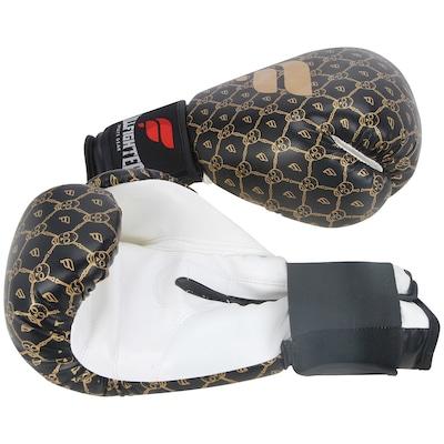 Luvas de Boxe Full Fighter Cardio Caveira Pro 16 OZ