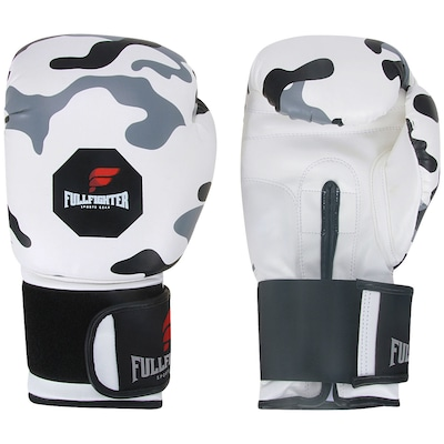 Luvas de Boxe Full Fighter Cardio Sintético Camuflada 12 OZ
