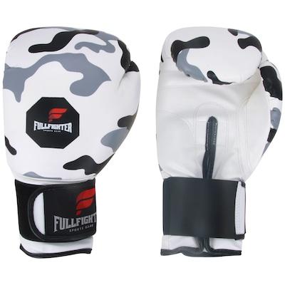 Luvas de Boxe Full Fighter Cardio Sintético Camuflada 14 OZ