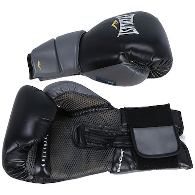 Luvas de Boxe Everlast Pro Protex 2 Evergel 14 OZ - Adulto