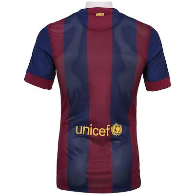 Camisa Nike Barcelona I 2014-2015 s/nº - Jogador