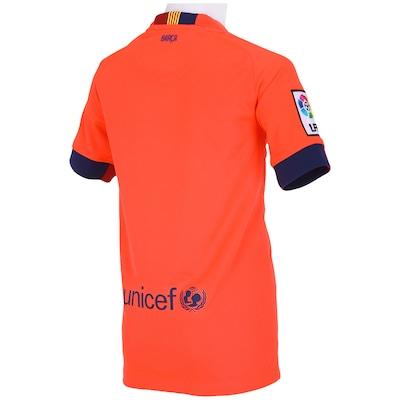 Camisa Nike Barcelona II 2014-2015 s/nº - Juvenil