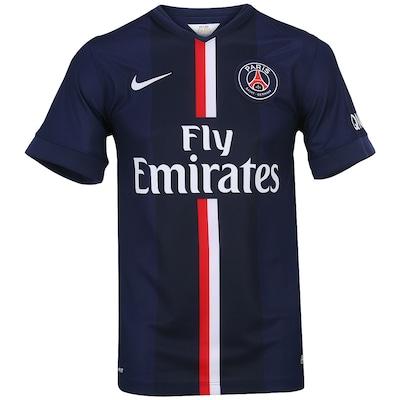 Camisa do PSG I 2014-2015 s/nº Nike