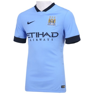 Camisa Nike Manchester City I 2014-2015 s/nº - Jogador