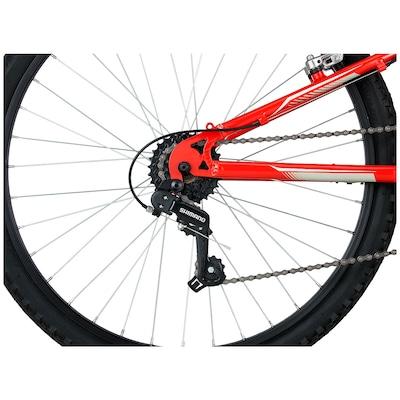 Mountain Bike Mongoose Full Edge - Aro 26 - Freio V-Brake - Câmbio Traseiro Shimano - 21 Marchas
