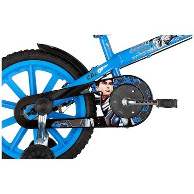 Bicicleta Caloi Max Stell - Aro 16 - Freio Cantilever/Tambor - Infantil