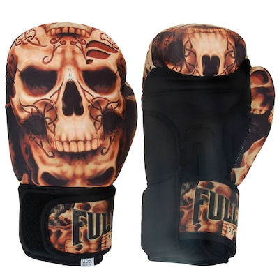 Luvas de Boxe Full Fighter Laváveis Training Skull 14 OZ