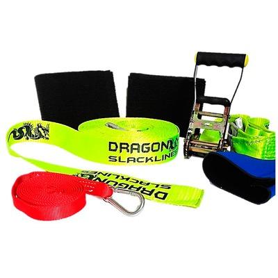 Kit Slackline Básico Dragon 15 Metros