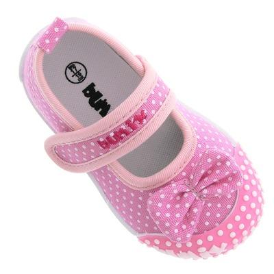 Tênis Bumix Feminino com Tira de Velcro - Infantil