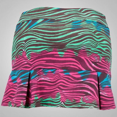 Short Saia Oxer Juju Zebra Color - Feminino