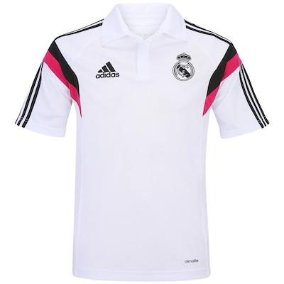 Camisa Polo adidas Real Madrid Viagem - Masculina