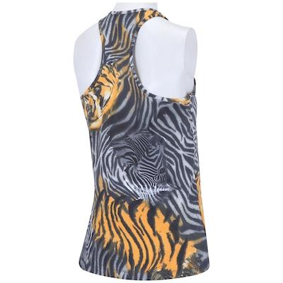 Camiseta Regata Oxer Zebra Onça - Feminina