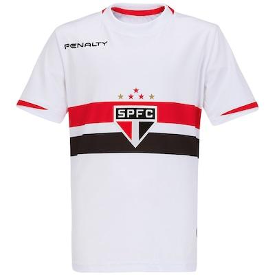 Camisa Penalty São Paulo I 2014 nº 10 - Infantil