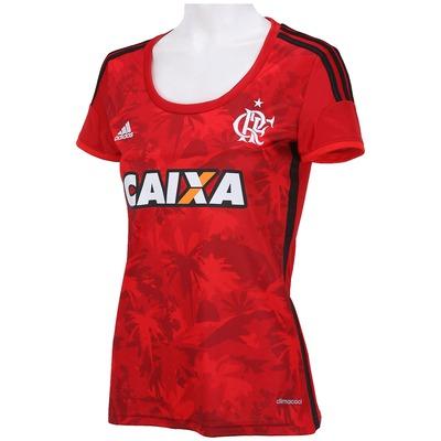 Camisa adidas Flamengo III 2014 s/nº - Feminina