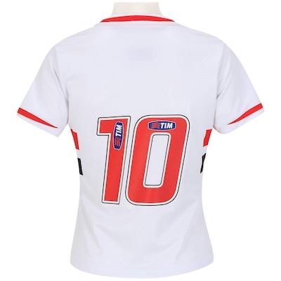 Camisa Penalty São Paulo I 2014 nº10 - Feminina