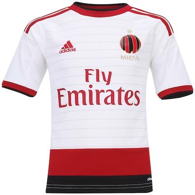 Camisa adidas Milan II 2014-2015 s/n°- Infantil