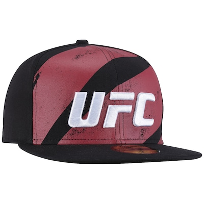 Boné Aba Reta UFC Smoke Octagon - Fechado - Adulto