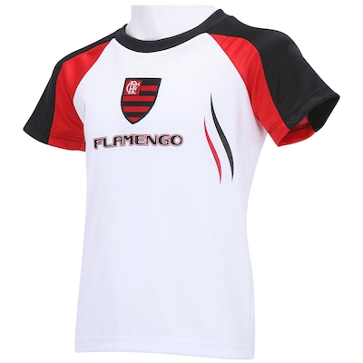 Camiseta Braziline Flamengo Skel - Infantil