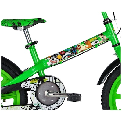 Bicicleta Caloi Ben 10 - Aro 16 - Freio Cantilever/Tambor - Infantil