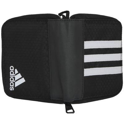 Carteira adidas 3S Essentials - Fechamento em Zíper