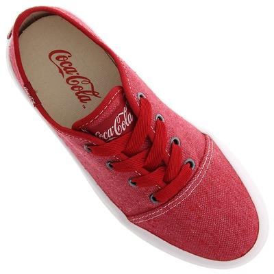 Tênis Coca-Cola Wake - Feminino