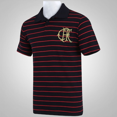 Camisa Polo Braziline Flamengo Tradicional Piquet - Masculina