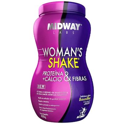 Shake Midway Womans Shake - Baunilha - 420g