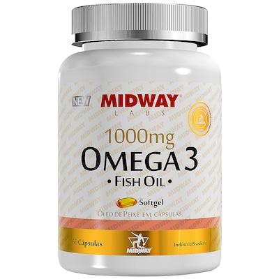Ômega-3 Midway Fish Oil - 60 Gel-Cápsulas