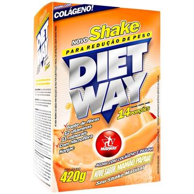 Shake Midway Diet Way - Mamão - 420g