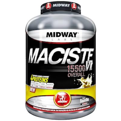 Hipercalórico Midway Maciste Vit 15500 Overall - Baunilha - 3Kg