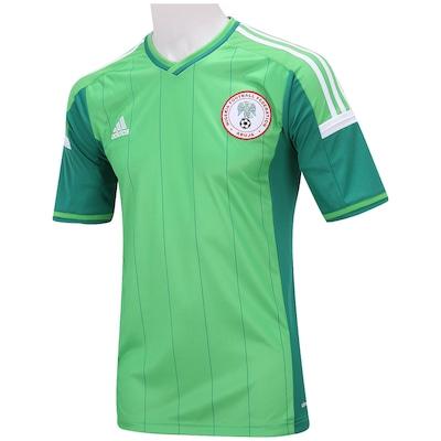 Camisa adidas Nigéria I 2014 s/nº