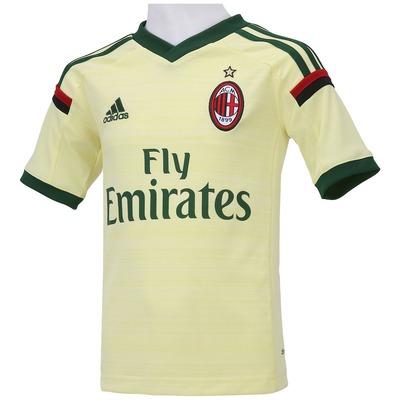 Camisa adidas Milan III 2014-2015 s/n° - Infantil
