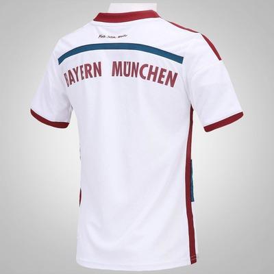 Camisa adidas Bayern de Munique II 2014 s/nº - Infantil