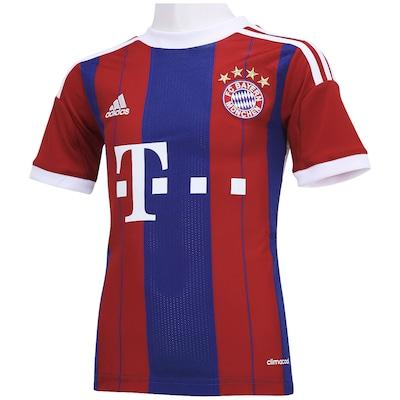Camisa adidas Bayern de Munique I 2014  s/nº - Infantil