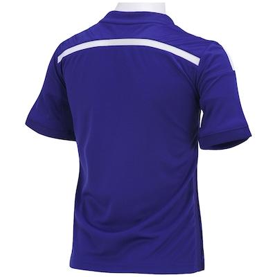 Camisa adidas Chelsea I 2014/2015 s/nº - Infantil
