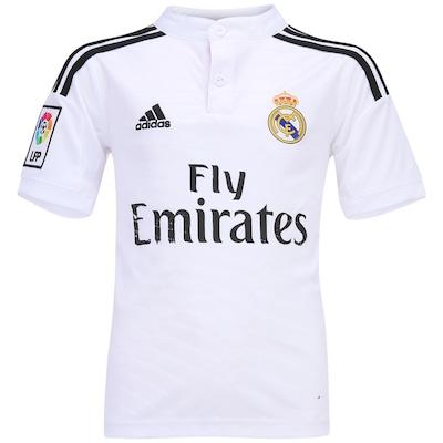 Camisa adidas Real Madrid I – Infantil