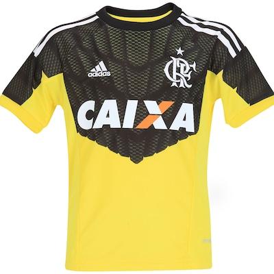 Camisa de Goleiro Flamengo I 2014 s/nº adidas - Infantil
