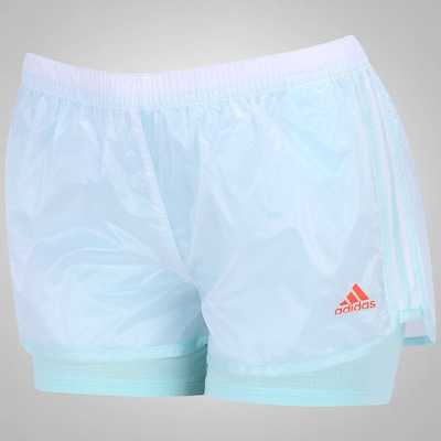 Short adidas 2x1 Marathon 10 - Feminino
