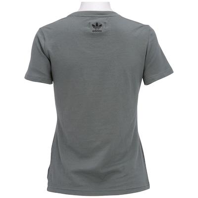 Camiseta adidas Trefoil Logo – Feminina
