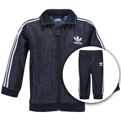 Agasalho adidas I Firebird Jeans - Infantil