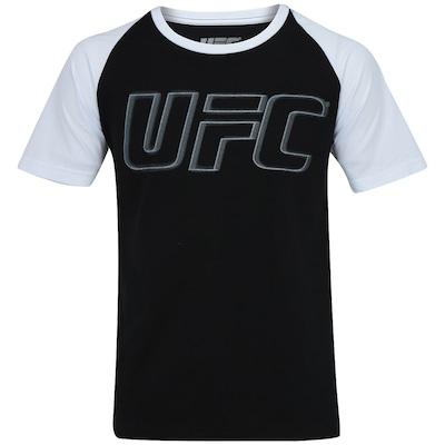 Camiseta UFC Raglan Bicolor – Masculina