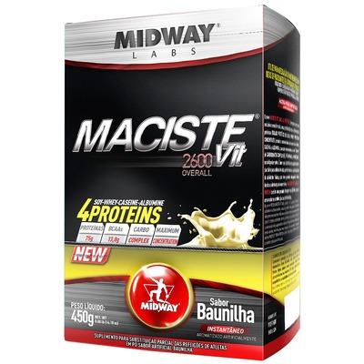 Hipercalórico Midway Maciste Vit 2600 Overall - Baunilha - 450g